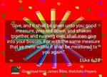 Luke 6:38 by crossmaximus