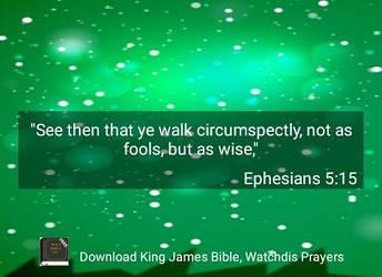 Ephesians 5:15 by crossmaximus