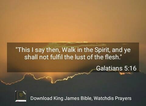 Galatians 5:16 by crossmaximus on DeviantArt