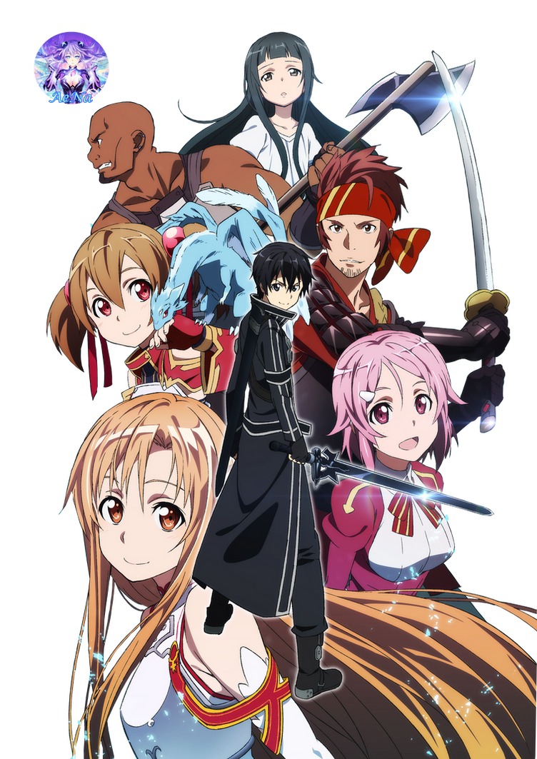 Sword Art Online 01 Render by AeNa34