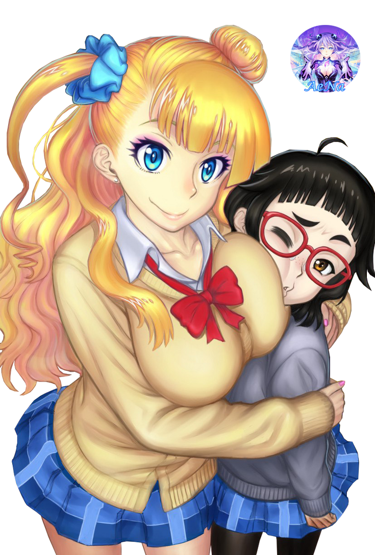 Oshiete! Galko-chan 015 Render by AeNa34