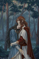 Fingon and  Maedhros by Tomopotato