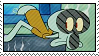 Squidward Stamp by hoshi-mizu