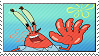 Mr. Krabs Stamp by hoshi-mizu