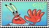 Mr. Krabs Stamp by hoshi-mizu