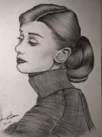 Audrey Hepburn by joinemm