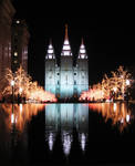 Temple Lights at Christmas by paint-nut2