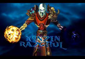 Kinzin and Razghul by scorpioevil