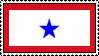 Blue Service Star Stamp by ArizonaRed