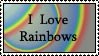 Rainbow Lover Stamp by ArizonaRed
