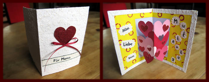 Mother's Day Card by velilein