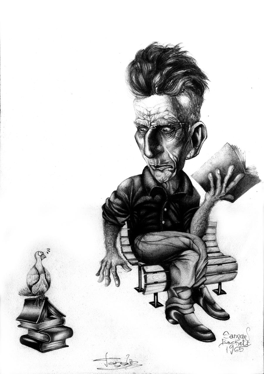 Samuel Beckett by JTGuilber