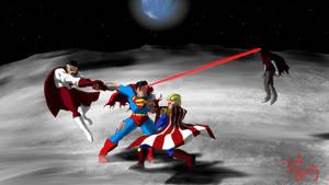 Superman vs Homelander, Brightburn and Omni Man