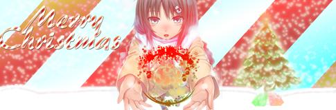 Resultado de imagem para anime merry christmas