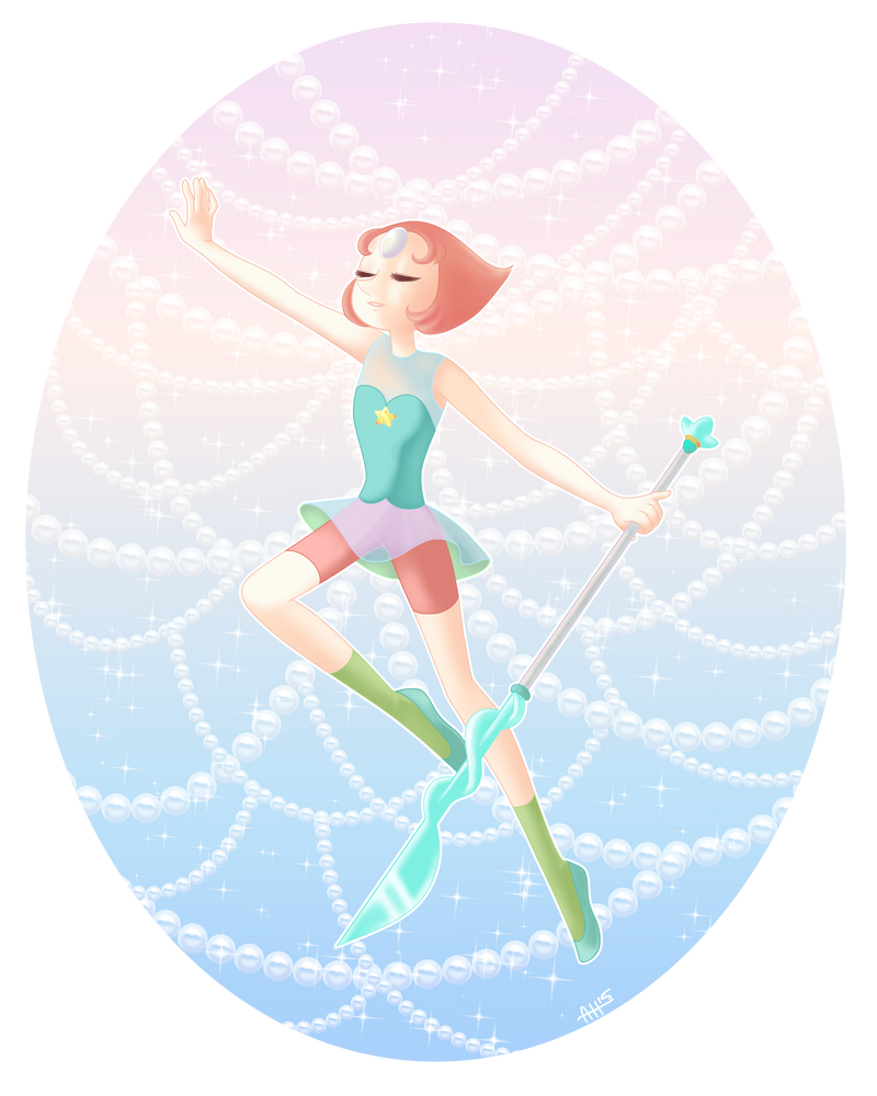 More SU fanart, I'm really pleased with this one, Pearl is a character I really relate to and I'm happy I could draw her. If you like this work, please consider supporting me by buying it on redbub...