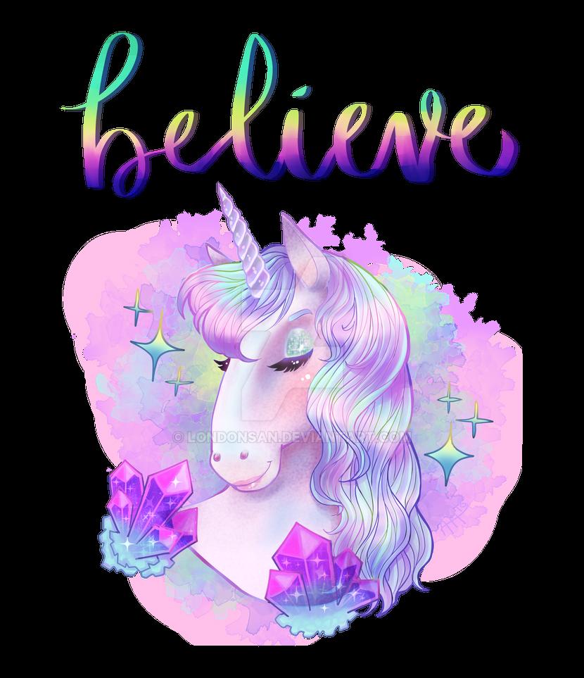 I Believe In Unicorns by londonsan
