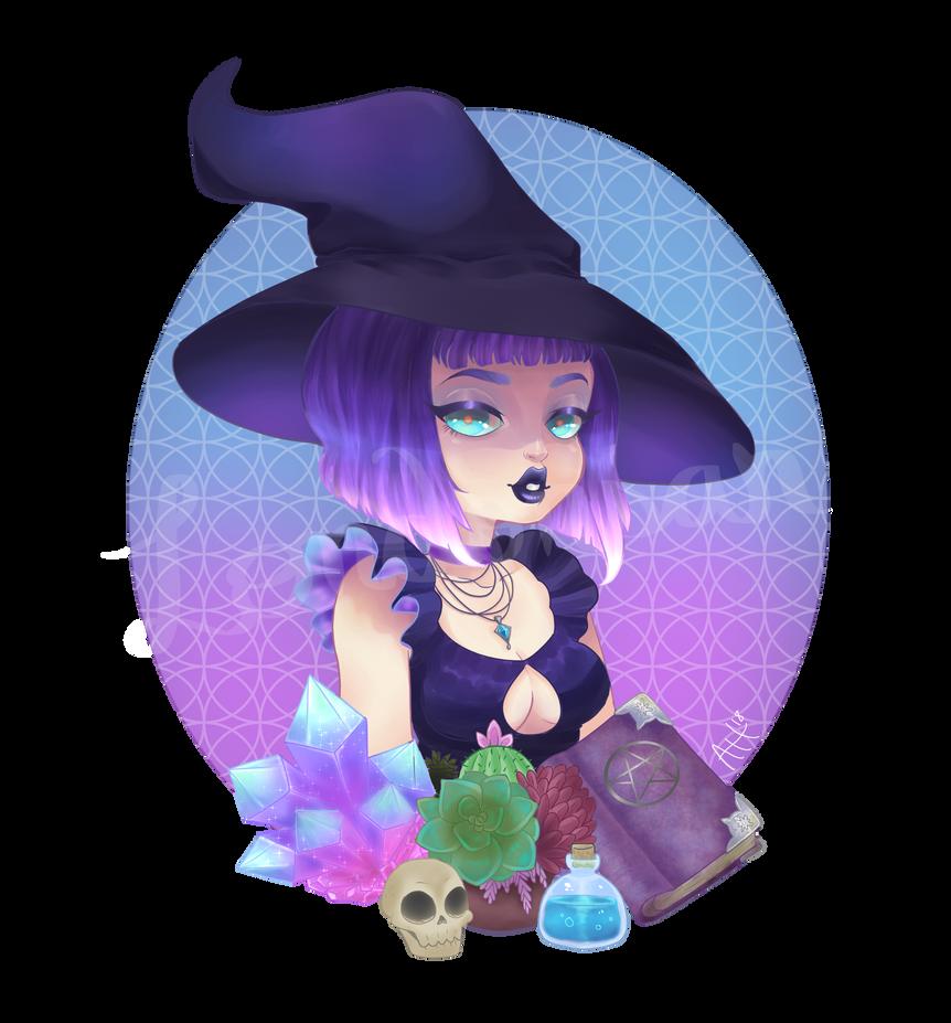 A Witch's Trinkets by londonsan
