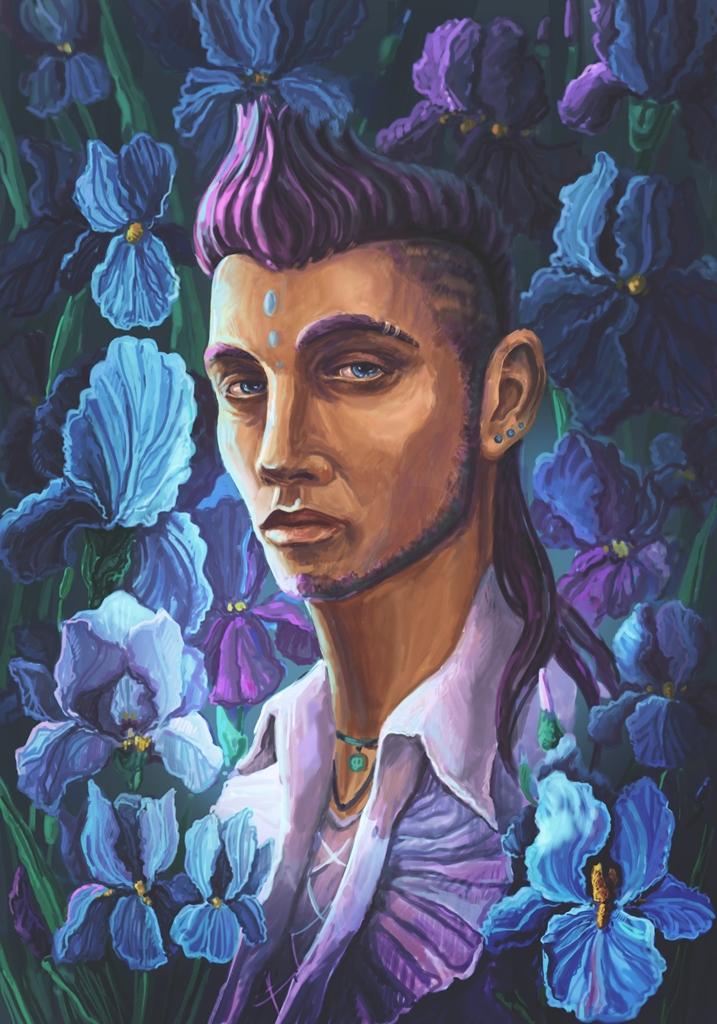 iris by aleksandvagne
