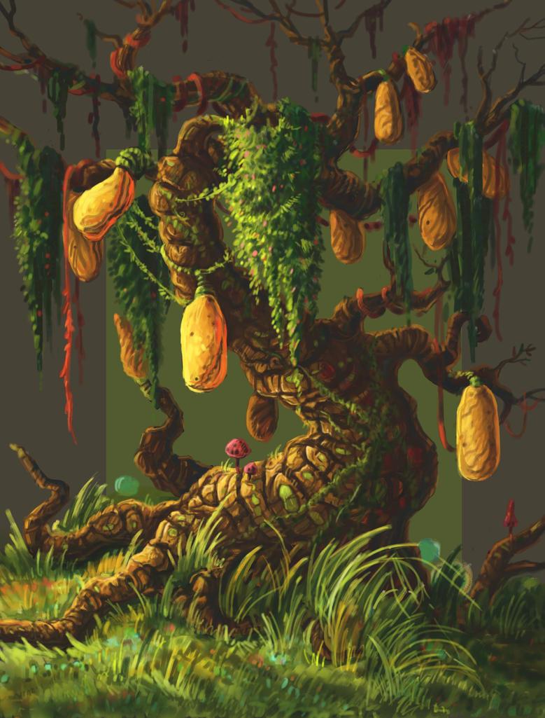 magic tree by aleksandvagne