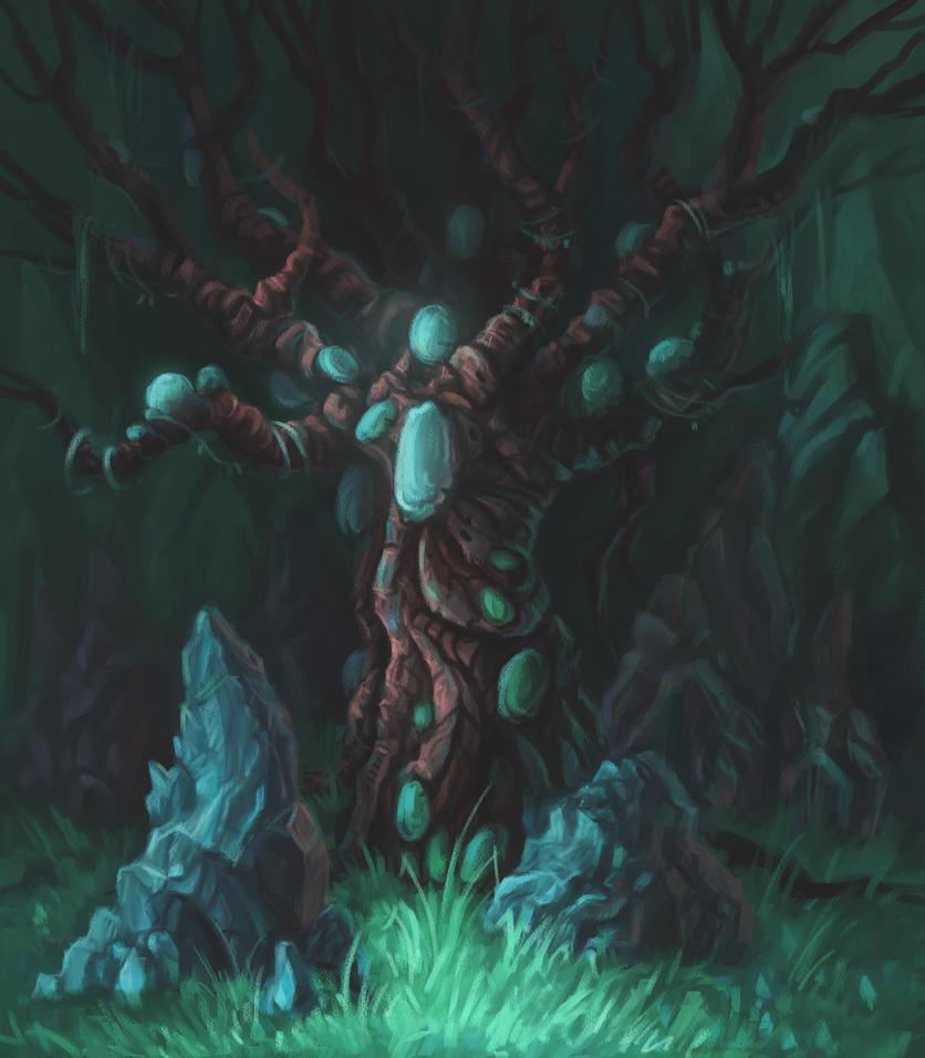 exotic tree by aleksandvagne