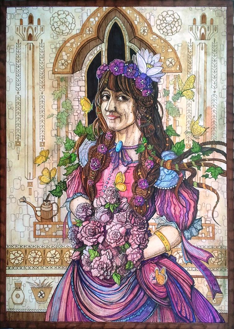Flower Girl Julia by aleksandvagne