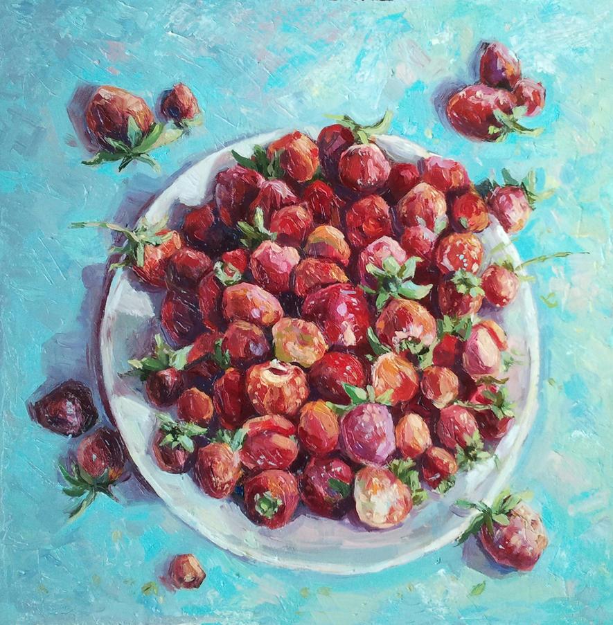 strawberry Breakfast by aleksandvagne