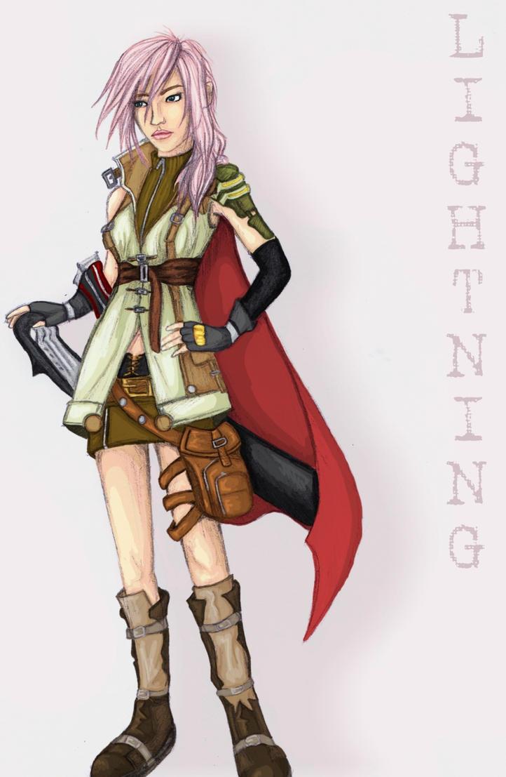 Lightning FFXIII by LuBobIII