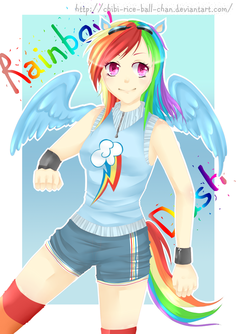 Mlp Rainbow Dash By Vinnie Cha On Deviantart