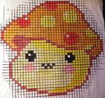 Cross Stitch Mushroom Pattern