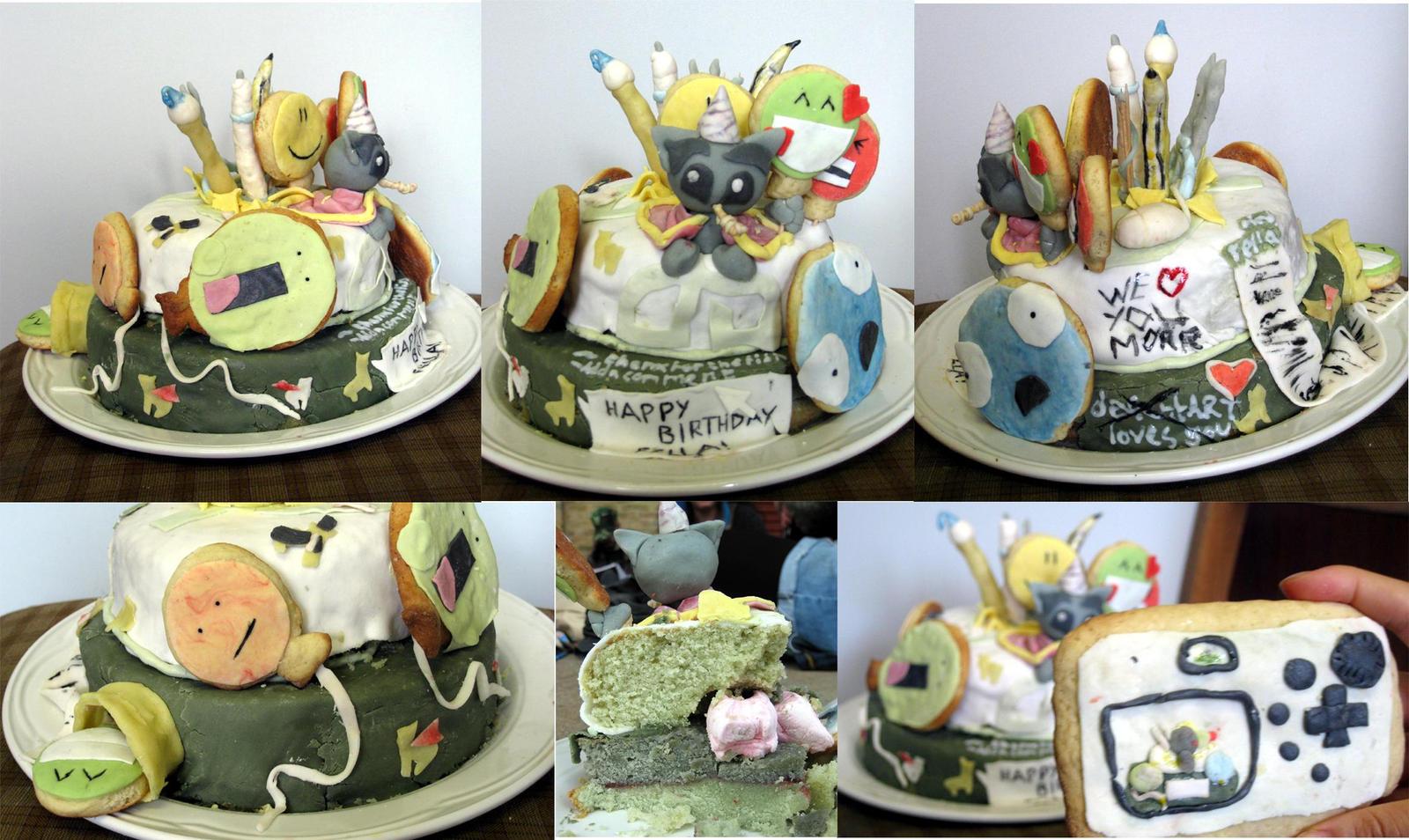 dA Birthday Cake by thanxforthefish