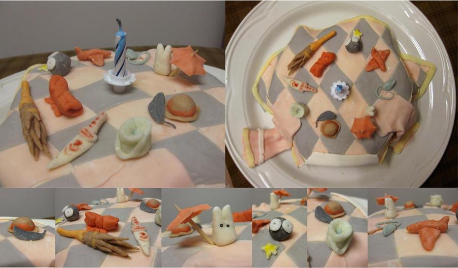 Ghibli Cake by thanxforthefish