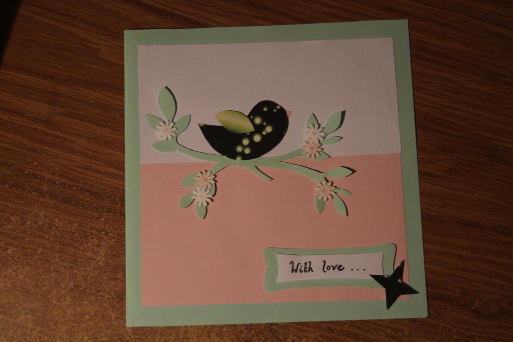 Bird Greeting Card by thanxforthefish