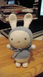 Rabbit in blue 3 by Irma-Ragran