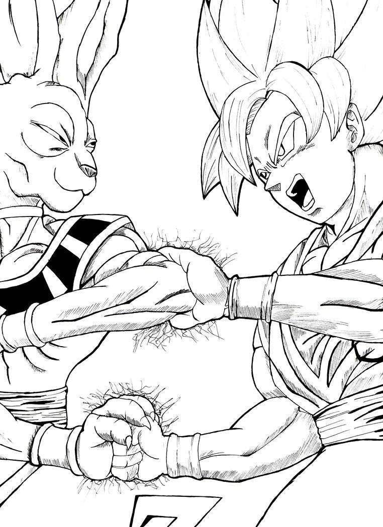 Dragon Ball Z Battle Of Gods By Yakerzadian On Deviantart Z Battle Of Gods Coloring Pages