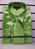 MensNew Apple Satin Satin Dress Shirt by mensusasuits