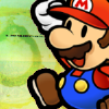 Paper Mario Icon Set-Mario by Emmalione