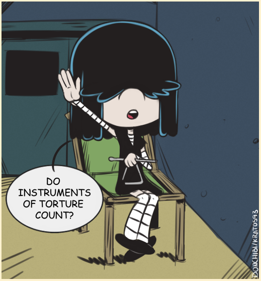 maybe lucy loud by kratos93 on deviantart