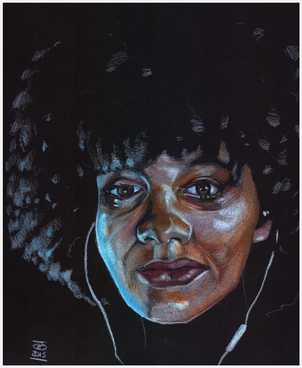 msmadd1 afro colouredpencils XLG by jetdog-art