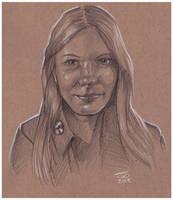 Michelle S Pencils by jetdog-art