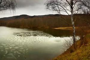 Ice pond 2 by PhotoDragonBird