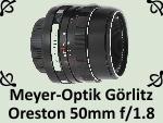 Meyer-Optik Gorlitz Oreston 1.8 50mm by PhotoDragonBird