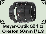 Meyer-Optik Gorlitz Oreston 1.8 50mm by PhotoDragonBird