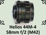 Helios 44M-4 58mm f2.0 (M42) by PhotoDragonBird