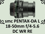 smc PENTAX-DA L 18-50mm f4-5.6 DC WR RE by PhotoDragonBird