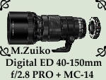 Zuiko 40-150mm f2.8 MC-14 by PhotoDragonBird
