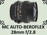 MC AUTO-BEROFLEX 28mm F2.8 by PhotoDragonBird