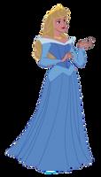 Aurora (Blue Dress)