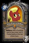 Custom HS- The Fiery Joker Hero Card by MegaAniLinkFan