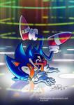 Sonic Break Dance by studiogdm