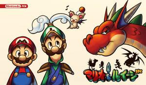 Mario And Luigi RPG 5: Enixpected